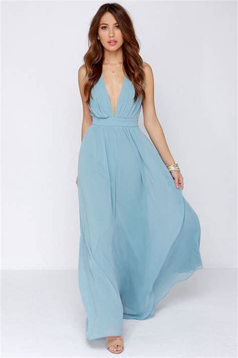 Light Blue Maxi Dress lovely maxi dress light blue dress bridesmaid dress 123 00