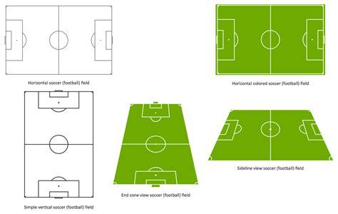 3d soccer pitch powerpoint template design a soccer football field