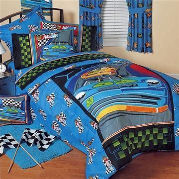 nascar comforter nascar victory lap kids bedding for boys full bedskirt