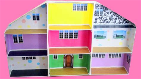 shoe box doll house how to make a dollhouse with shoe boxes simplekidscrafts