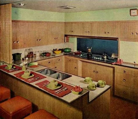 wood kitchen cabinets in the 1950s and 1960s quot unitized wood cabinets probably similar to the original ones in