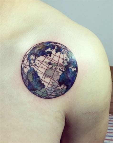 earth angel tattoo designs planet earth pinteres