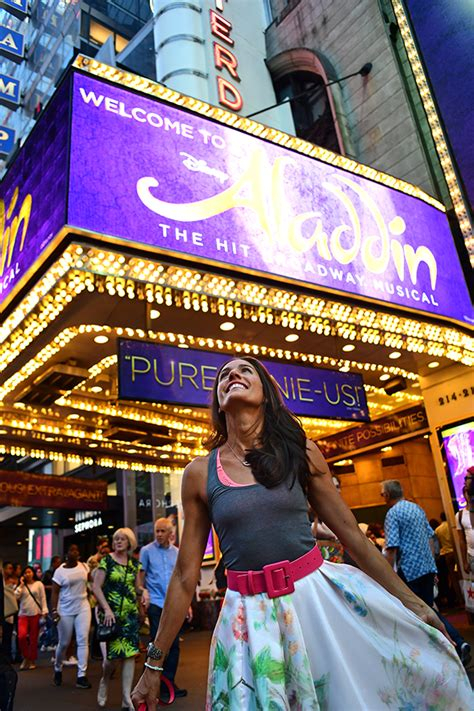 this week in swing nyc nycpretty aladdin broadway disney fashion blogger nyc theater