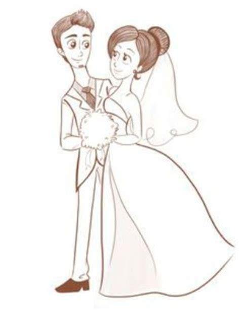 imagenes de novios faciles para dibujar dibujos para invitaciones de boda dibujos para com