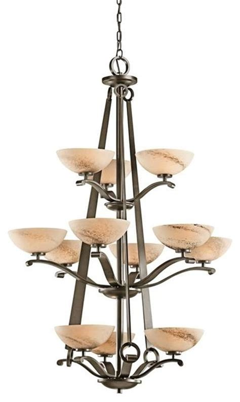 Lodge Chandelier Kichler Lighting 42358swz Garland Lodge Country Rustic Chandelier Rustic Chandeliers By