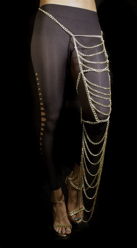 how to make leg chain jewelry leg chain jewelry my style