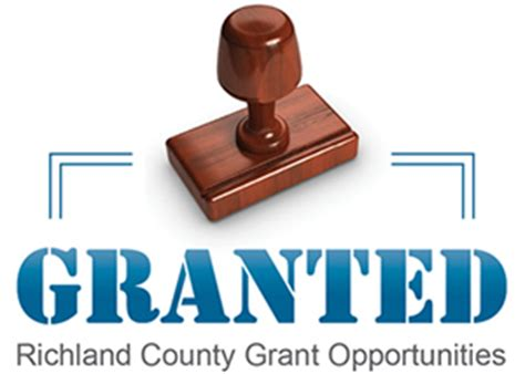 Richland County Personal Property Tax Records Richland County Gt Government Gt Departments Gt Grants
