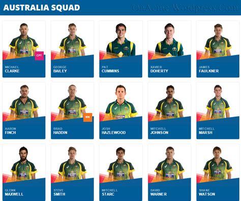 australian names australia cricket team players name list livecricketpakistan