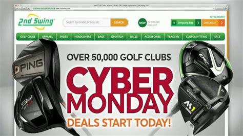 2nd swing coupon code 2nd swing cyber monday deals tv commercial over 50 000