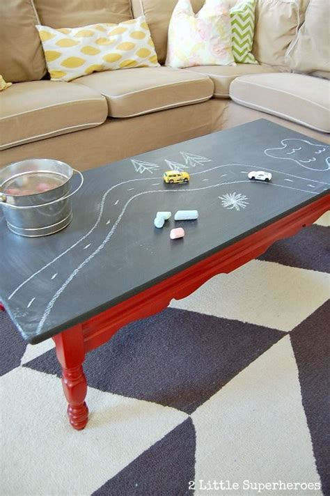 diy chalk paint on laminate paint a laminate coffee table with chalkboard table