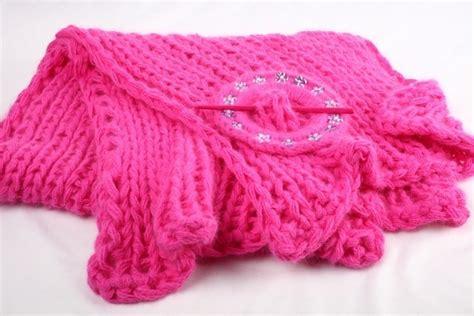 schurwolle decke neu xl pink strick stola angora schurwolle grobstrick