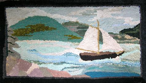 Rugs Island by Illustration 38 Sailboat And Of Mount Desert Island Rug