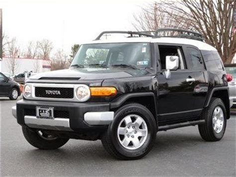 old car manuals online 2007 toyota fj cruiser user handbook find used 2007 toyota fj cruiser 4wd 4dr low miles suv manual gas 4 0l v6 24v blue in columbia