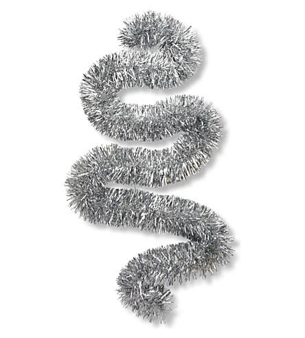 image gallery silver tinsel