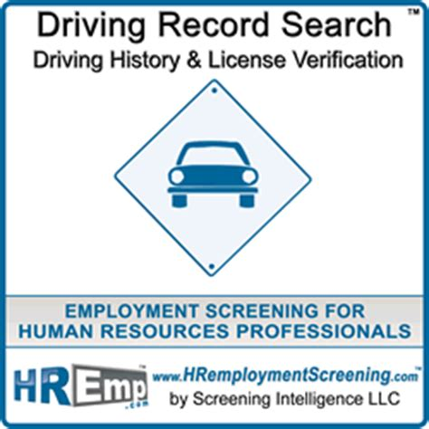 Are Dmv Records Driving Record Search And Dmv Check For Employment
