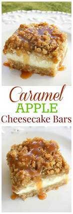 caramel apple cheesecake bars the who ate everything