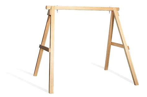 swing frames amish handcrafted pine wood swing frame