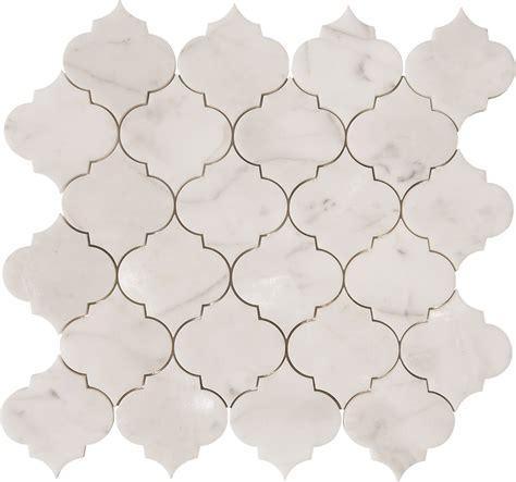 gold arabesque tile calacatta gold arabesque waterjet mosaics polished