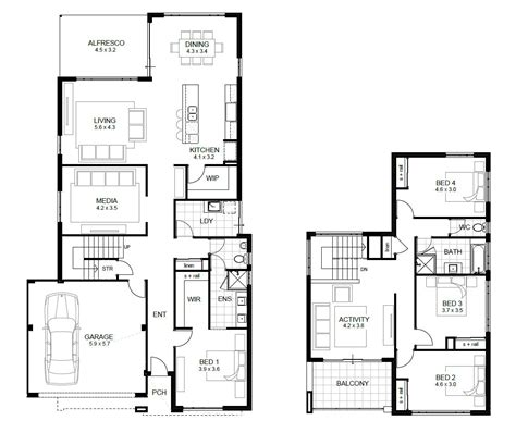 4 bedroom house plans apg perth builder single and storey home designs and plans