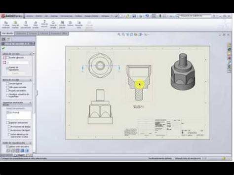 tutorial solidworks espanol tutorial solidworks 2009 totalmente en espa 241 ol 7 youtube