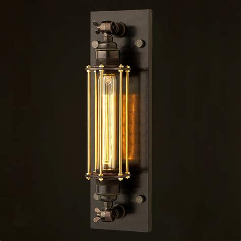 cage light bronze medium bulb cage wall mount l e27
