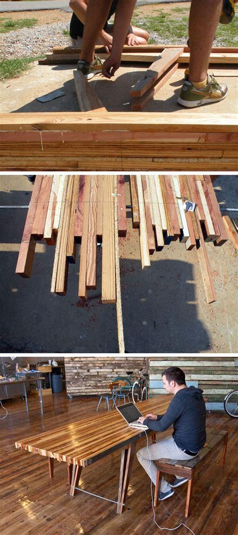 Desk Skrup 5 16 X 1 1 4 Skrup Kepala Baut wood scrap table just like the headboard i see more