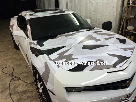 Autofolie Digital Camo by 2018 Black White Grey Arctic Camo Vinyl Wrap Film For Car