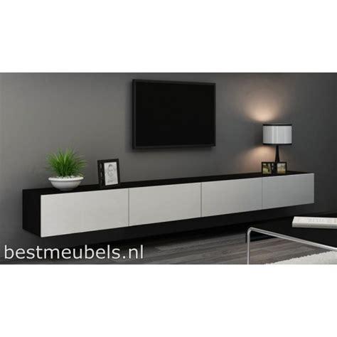tv meubel hoogglans wit hangend ikea verdi 11 280cm zwevend tv meubel tv kast hoogglans verdi
