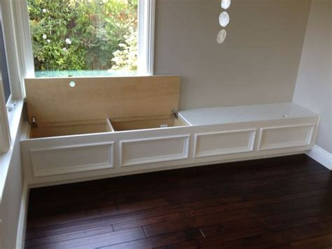 how to build a banquette with storage storage banquette best storage design 2017
