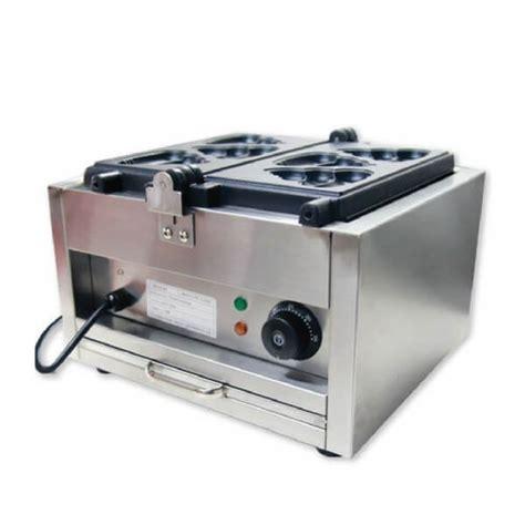 Cetakan Waffle Ikan mesin cetakan kue waffle berbentuk ikan fomac