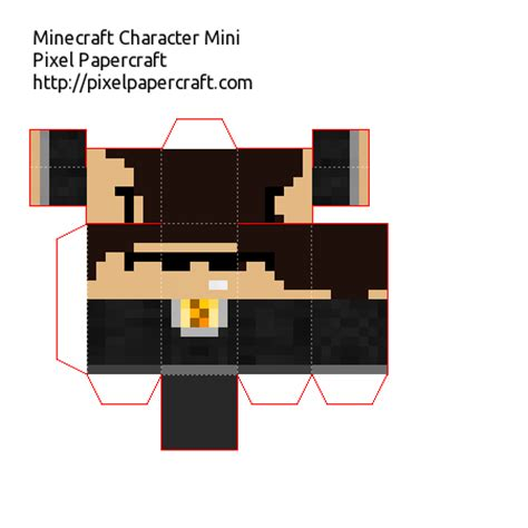 Minecraft Mini Papercraft - papercraft mini bodil40