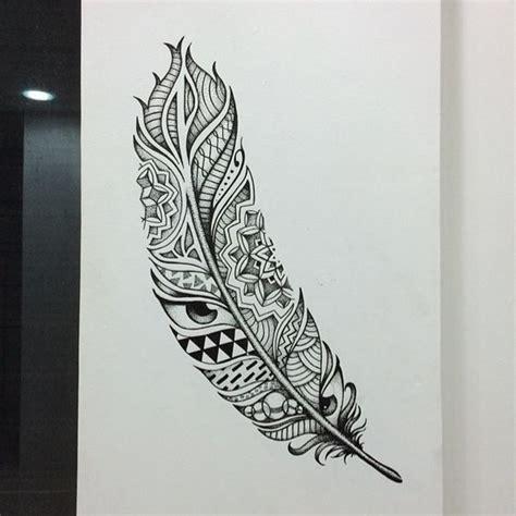 tattoo mandala com penas significado tatuagem de pena mais de 80 modelos com incr 237 veis