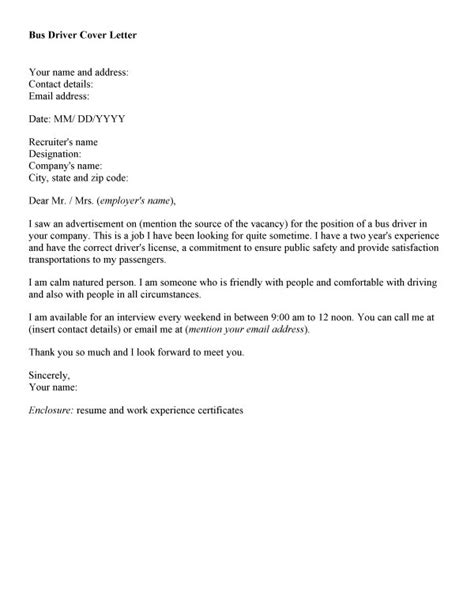 School Driver Cover Letter by Resume For Drivers Sales Driver Lewesmr