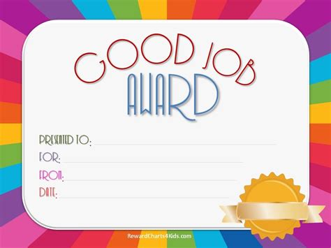 free good job sticker printables print on paper and