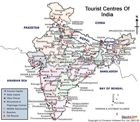 printable road map of india tourist map of india travel map of india city map of india