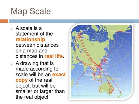 map scale definition geography skills scale