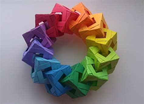 Modular Box Origami - 25 best ideas about modular origami on