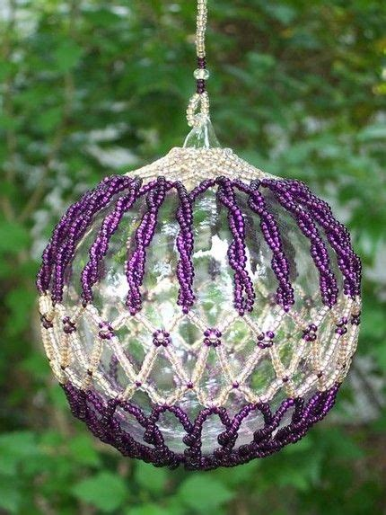 beaded christmas decorations free patterns beaded ornaments free patterns