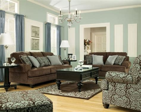 Brown Leather Couches In Living Room Living Room Chocolate Brown Living Room Furniture