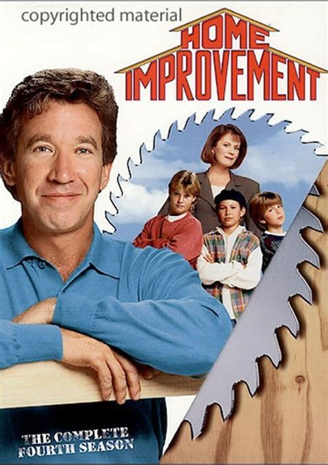home improvement the complete fourth season dvd 1994