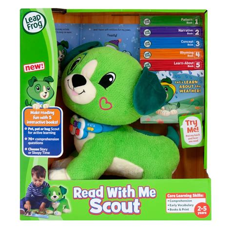 leapfrog puppy leapfrog read with me puppy scout new ebay