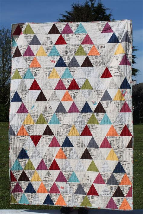Triangle Patchwork Quilt Patterns - 213 best quilts triangles images on