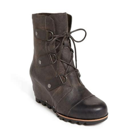 rank style sorel joan of arctic wedge boot