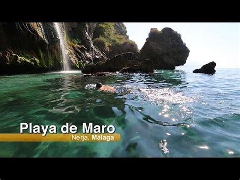 Playa de Maro, Nerja - YouTube