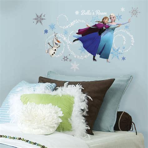 Frozen Wall Decor by Disney Frozen Headboard Wall Decals Rosenberryrooms