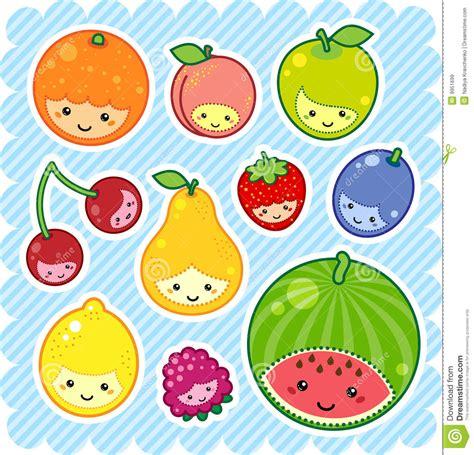 imagenes kawaii frutas frutas de kawaii im 225 genes de archivo libres de regal 237 as