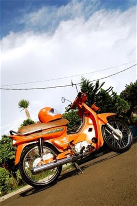 Knalpot Creie Honda Blade Revo Supra 125 Knalpot 4t Oval gambar modifikasi motor antik