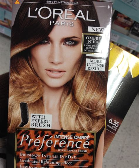 L Oreal Feria Ombre how to ombr 233 hair at home l oreal f 233 ria ombr 233 s