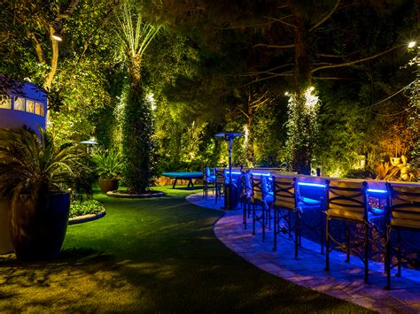 Landscape Lighting Las Vegas Las Vegas Company Twilight Designs Takes Gold In National Landscape Lighting Award Competition