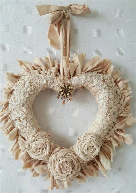 shabby chic wreaths best 25 shabby chic wreath ideas on